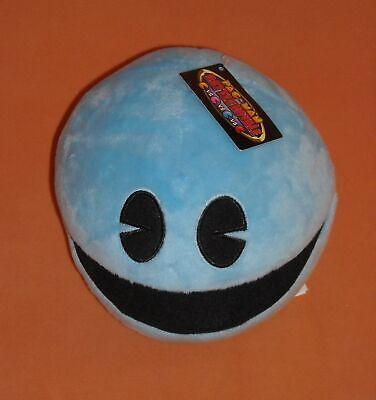 "NWT 7"" BLUE PAC MAN BATTLE ROYALE BANDAI NAMCO STUFFED ANIMAL PLUSH"