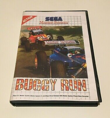 Buggy Run, Sega Master System, RARO RARE videogioco videogame