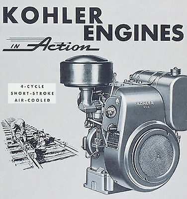 KOHLER ENGINE SERVICE MANUAL K91 K181 K241 K301 K321 K341 REPAIR SHOP OVERHAUL