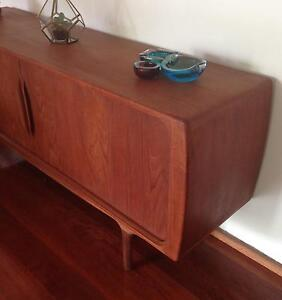 STUNNING  SIXTIES SIDEBOARD  by DANISH DESIGNER JOHANNES ANDERSON Rochedale Brisbane South East Preview