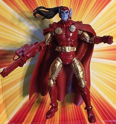 Marvel Legends CUSTOM TAZER FACE - Drax Rocket Star captain Mantis Silver Thanos