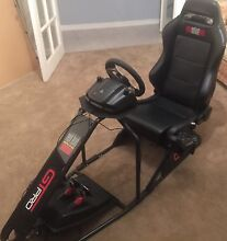 GTPro Racing seat & Logitech G27 Racing wheel, Pedals and Shifter Salter Point South Perth Area Preview