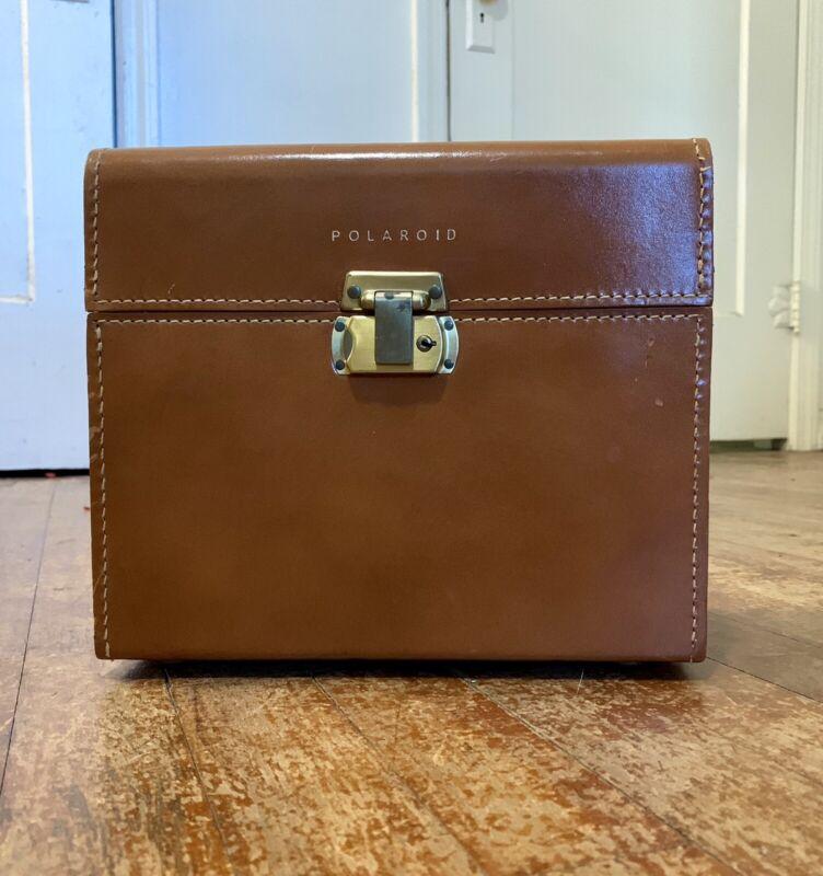 Original Vintage Polaroid Leather Carrying Case