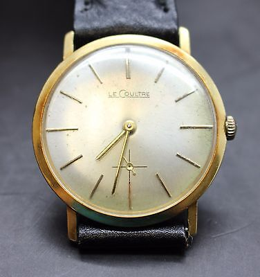 Vintage Jaeger Le Coultre 18K Watch + Running Great