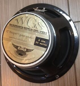 WGS Reaper HP  50 watt Warehouse Guitar Speakers