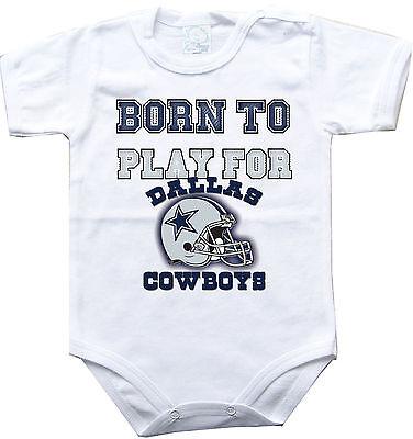 o play Dallas Cowboys football One Piece jersey (Dallas Cowboys Baby-sachen)
