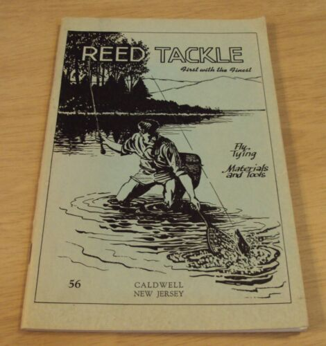 "1955 FLY FISHING Catalog/Order Form~""REED TACKLE""~Caldwell NJ~"