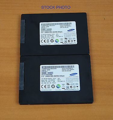 Lot of (2) Samsung 128GB SSD Solid State Drive MZ-7PC1280/0L5 2.5
