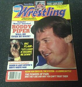 Inside Wrestling Magazine  - DEC 1988
