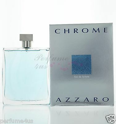 Azzaro Chrome Eau De Toilette 6 8 Oz  200Ml For Men Brand New In Sealed Box