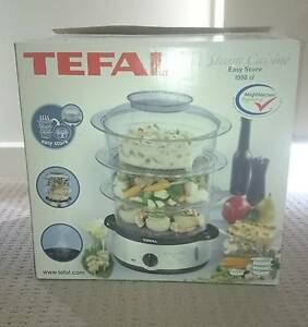 NEW TEFAL STEAM CUISINE EASY STORE 1000CL KITCHEN STEAMER Geelong Geelong City Preview