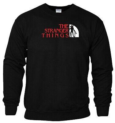 Stranger Things Sweatshirt Inspired Upside Down Halloween Birthday Men Jumper