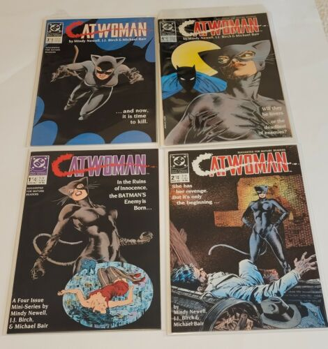 Catwoman # 1,2,3,4   (DC 1989)   Very Fine