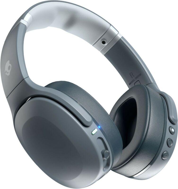 Skullcandy Crusher Evo Wireless Over-Ear Headset - Chill Gray - Refurbished