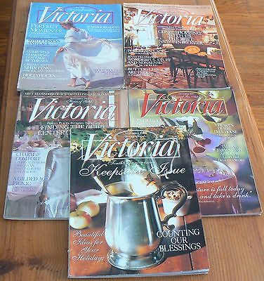 VICTORIA Magazine -5 1997 Back Issues-July, August, September, October, November