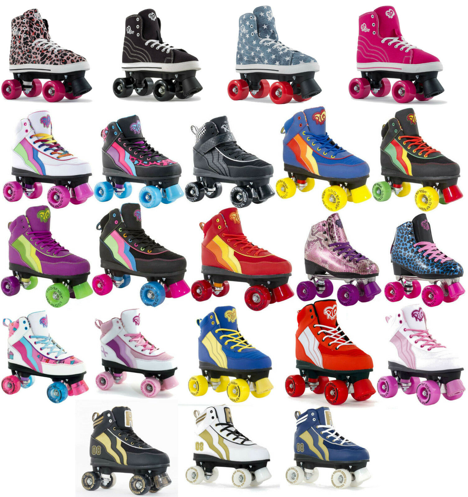 SFR Rio Roller Quad Kids / Mens / Womens Skates