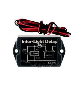 custom interior light delay switch lamp self contained circuit car van lorry new ebay. Black Bedroom Furniture Sets. Home Design Ideas