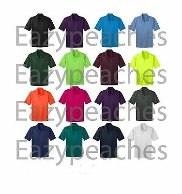 Port Authority Mens Big & Tall Silk Touch Dri-Fit Polo Shirt