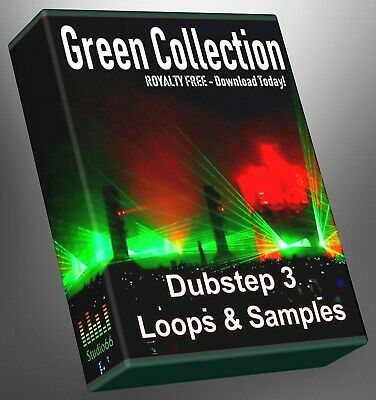 Dubstep Green Collection Part 3 WAV Loops Cubase Reason Ableton Logic FL Studio