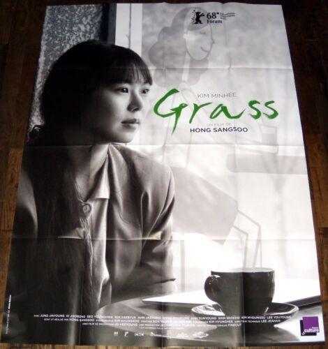 GRASS 풀잎들 Hong Sang-Soo 홍상수 Korea Min-Hee Kim 김민희 LARGE french POSTER