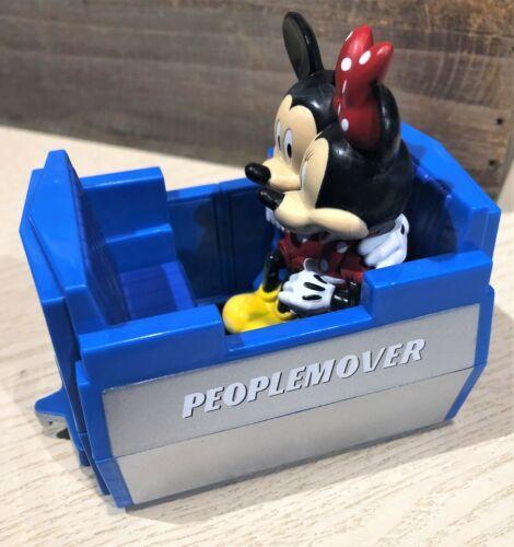 Disney World Parks Tomorrowland People Mover Pullback Toy Car Mickey Minnie NEW