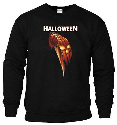 Halloween Sweatshirt Movie Scary Horror Night Pumpkin Trick Treat Gift Men Top