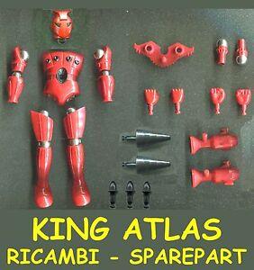 KING-ATLAS-Pezzi-di-Ricambio-e-Accessori-Spare-Part-Piece-Micronauti-Micronauts