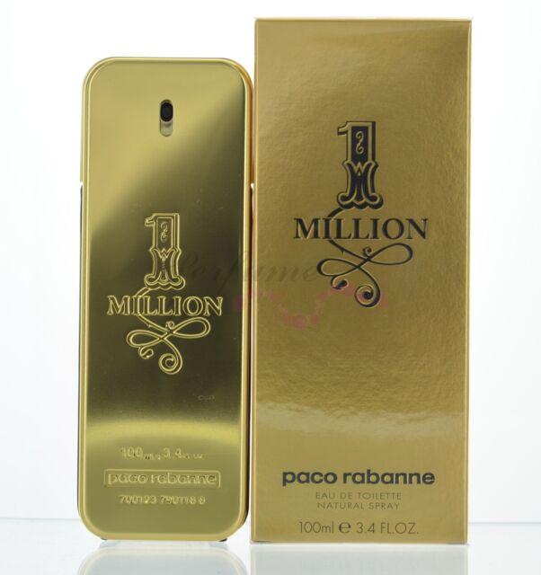 One Million *1 Million* by Paco Rabanne EDT 3.4 oz 100 ml Spray New Sealed