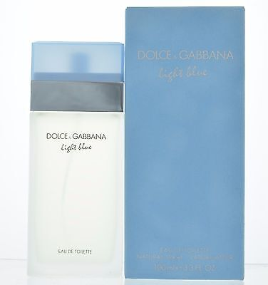 Dolce&Gabbana Light Blue Women 3.3 oz Eau de Toilette Spray new sealed