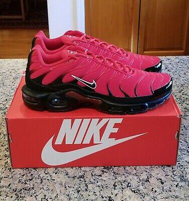 Nike Air Max Plus TN University Red Black NEW 852630-603 Men