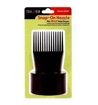 Aufsteckdüse passend für die meisten Haartrockner Stella4Salon NOZ01
