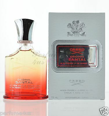 Original Santal By Creed For Men Eau De Parfum Spray 2 5Oz  75Ml New In Box
