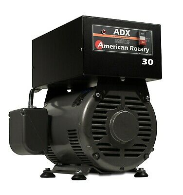 American Rotary Phase Converter Adx30f 30hp Floor Unit 1 To 3 Phase Extreme Duty