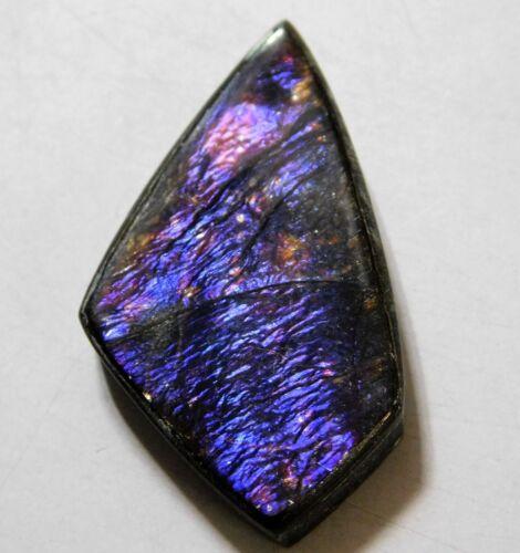 20.65 Cts Natural Canadian Ammolite Cabochon Loose Gemstone 31.7X17.7X4.5MM AR10
