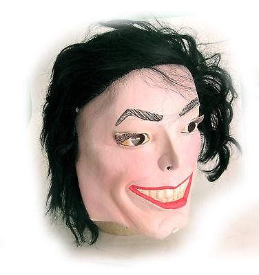 Lustig Michael Jackson Erwachsene Pop Star Halloween Kostüm - Michael Jackson Maske Kostüm