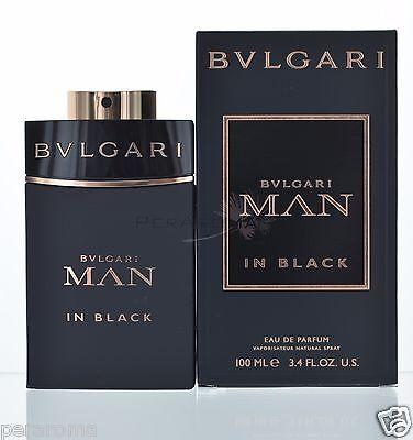 Bvlgari Man in Black by Bvlgari for Men Eau De Parfum 3.4 OZ 100 ML Spray