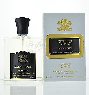 Royal Oud By Creed  Eau De Parfum Spray 4 Oz  120Ml New In Box Unisex