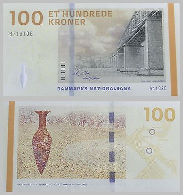 Dänemark / Denmark 100 Kroner 2010 p66b unz.
