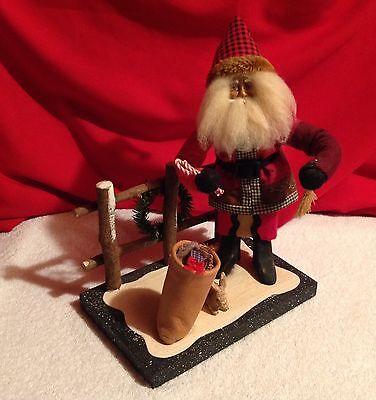 Rustic Father Christmas,House of Hatten,Dee Gann,Santa,Rabbit,Diroma,Retired for sale  Saratoga Springs