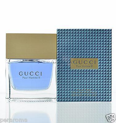 Gucci Pour Homme II Eau De Toilette 3 3 OZ for Men NEW
