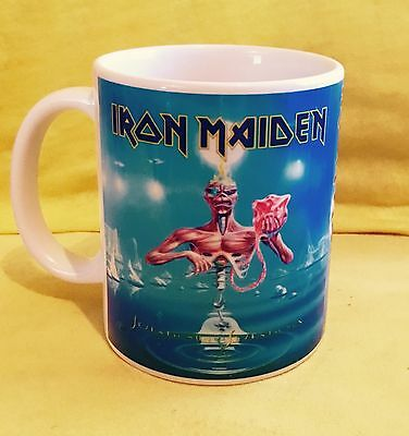 IRON MAIDEN SEVENTH SON OF THE SEVENTH SON 1988 -ALBUM COVER-ON A  MUG