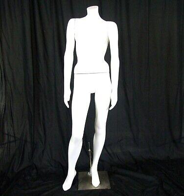 Greneker Studio Attitudes Female Stat 2 Fiberglass Full Body Mannequin Stand Euc