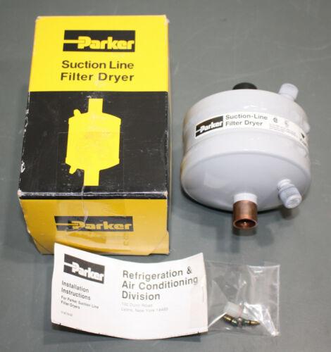 "Parker Suction Line Filter/Dryer SLD-13-5SV-HH, High Acid Capacity, 5/8"" Sweat"