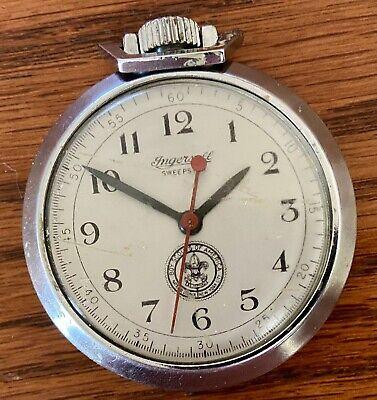 Vintage 1936-1947 Boy Scouts of America Ingersoll Pocket Watch • Keeps Time! ⏱!