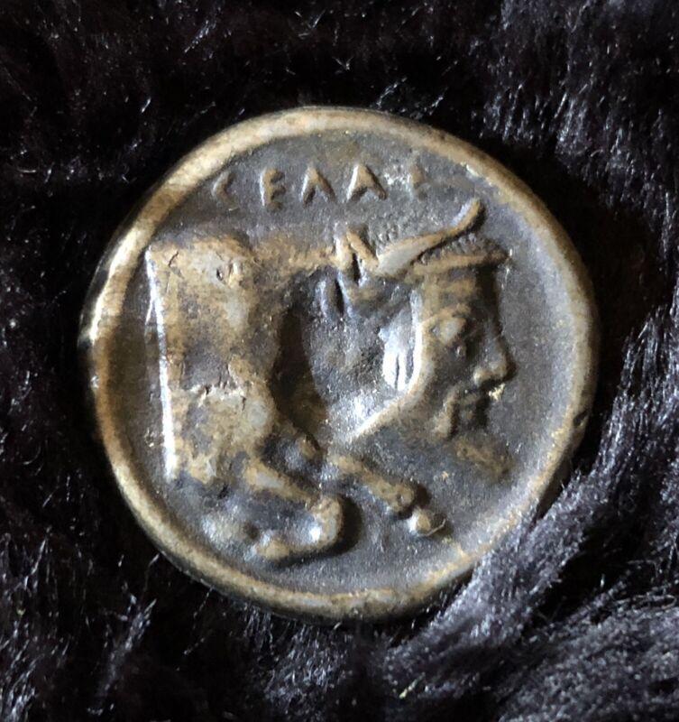 Souvenir Ancient Greek Tetradrachm Coin