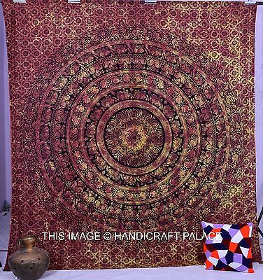 Star Hippie Indian Tapestry Wall Hanging Elephant ...