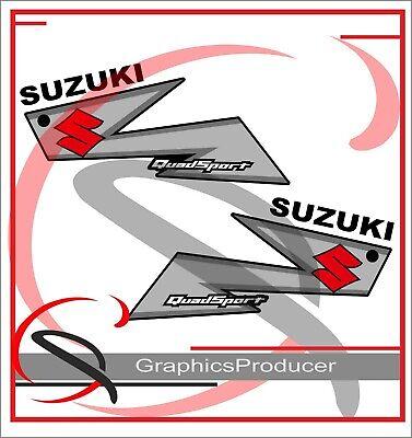 Suzuki LTZ250 Sticker Decals Stickers  Replica Full Set Graphics Black Model