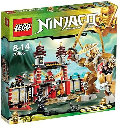 New LEGO NINJAGO Temple of Light 70505 (in opened box)