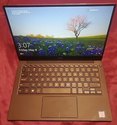 Dell XPS 13 Ultrabook Laptop 9360 i7-8850u 8GB RAM 256GB Samsung SSD