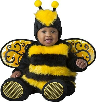 Infant Toddler Baby Bumble Bee Animal Costume